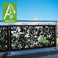 Ограждение для балкона резное из Алюкобонда