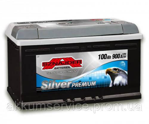 Аккумулятор автомобильный Sznajder Silver Premium 100AH R+ 900А (60035)