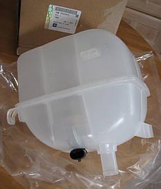 Бачок расширительный (напорный) радиатора охлаждения двигателя с датчиком без крышки GM 1304236 9202100