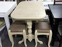 Обеденный стол для маленькой кухни Бавария нераскладной bc