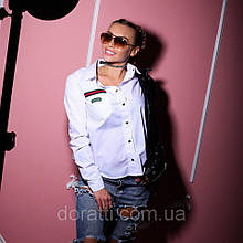"Белая рубашка ТМ Doratti ""G"""