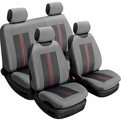 Чехлы на сиденья Beltex Comfort 4шт серый без подголовников