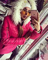Малиновая куртка TM Doratti. Осень/зима