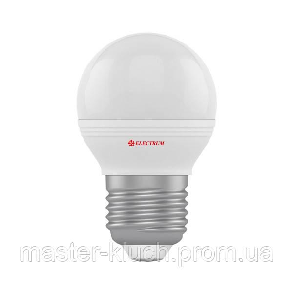 Лампа светодиодная шар Electrum LED LB-32 6Вт E27 4000K