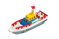 Деревянный 3D конструктор-раскраска Спасательная лодка (HC261)