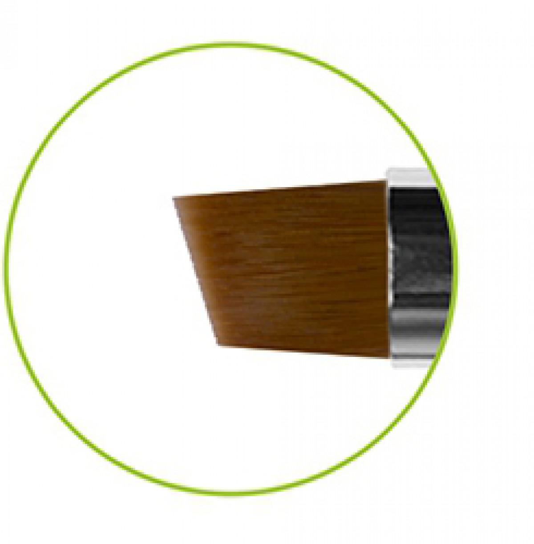 Кисть наклонная коричневая синтетика № 4 серия GN63R Roubloff