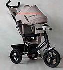 Детский трехколесный велосипед Crosser T-1 EVA серый, фото 2