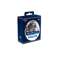 Автолампы Philips H4 +150% 12342RVS2