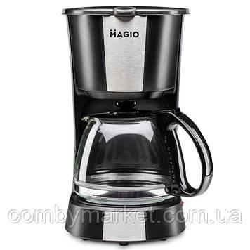 Кофеварка Magio МG-349, 550 Вт, 600 мл
