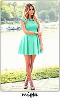 Платье  женское Куколка мятный (код 003) , фото 1