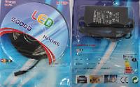 Светодиодная лента комплект SMD 5050 blue 5 м + блок питания