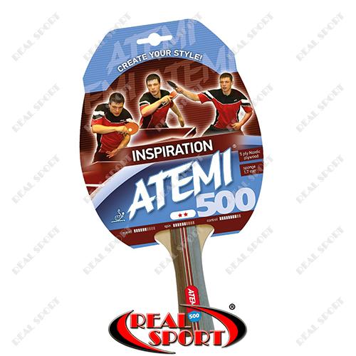 Ракетка для настольного тенниса Atemi 500**