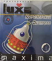 "Презервативи с шипами LUXE MAXIMA ""Королевський Экспрес"" 1 шт."