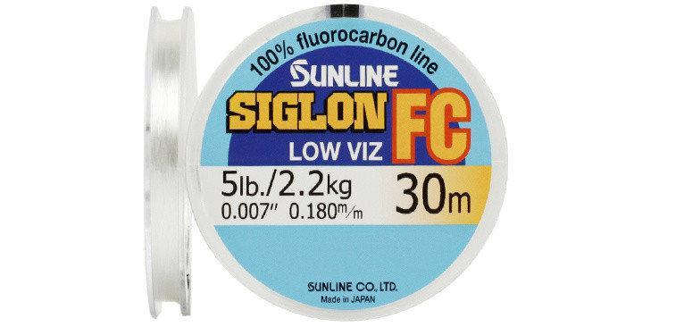 Флюорокарбон Sunline SIG-FC 30м 0.350мм 8кг