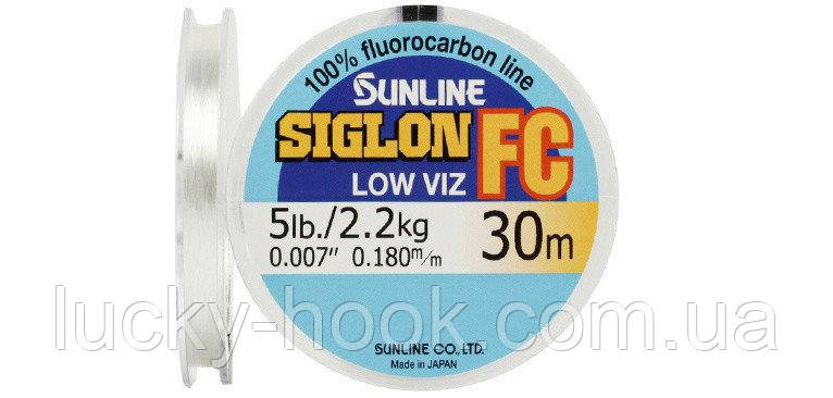 Флюорокарбон Sunline SIG-FC 30м 0.350мм 8кг, фото 2