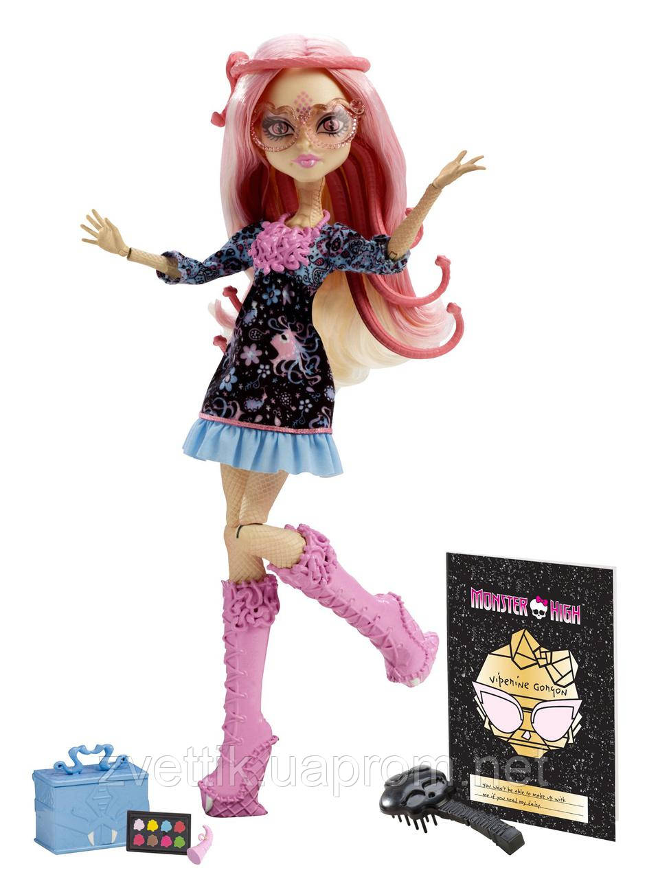 Кукла Monster High Frights, Camera, Action! Viperine Gorgon Вайперин Горгон