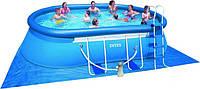 Овальный сборно-каркасный бассейн Intex 610х366х122 см (28194)