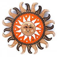 "Зеркало мозаичное ""Солнце"" (d-40 cм)"