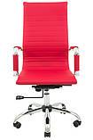 Офисное кресло Richman Бали-Armchair Bali черное Хром с высокой спинкой на колесиках, фото 6