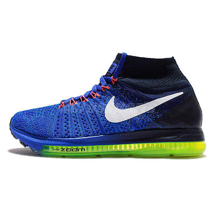 Кроссовки мужские NIKE ZOOM ALL OUT FLYKNIT Navy, фото 2