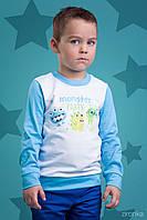 """Джемпер для мальчика """"Монстрики"""" р.92,98,104,110 см Украина"""