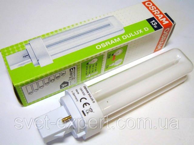 Лампа Osram DULUX D 13W/840 G24d-1 люмінесцентна
