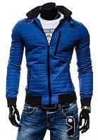 Мужская молодежная куртка синего цвета