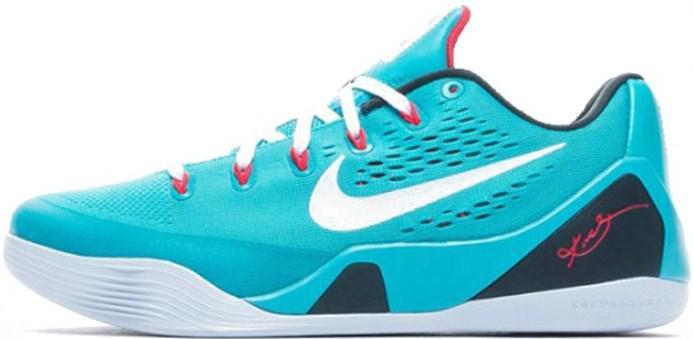 Nike Zoom Kobe 9 EM Dusty Cactus   кроссовки мужские баскетбольные  спортивные голубые 561139ea967