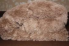 Покрывало - плед меховое утепленное 210*230 (капучино), фото 2