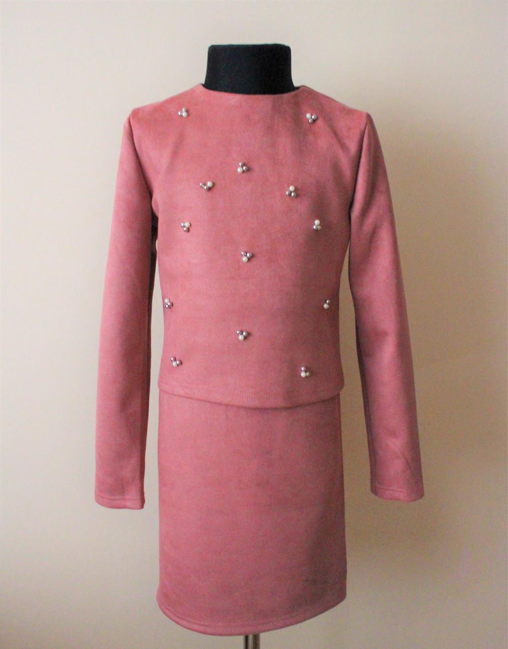 8d5794bee244 Костюм, кофта и платье, для девочек подростков нарядное 10-16 лет - Интернет
