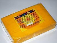 Полимерная глина Пластишка, №0106 желтый HR, 250г