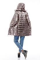 Золотое пальто писк моды 2018, весна-осень 2018 размер 42-54, фото 2