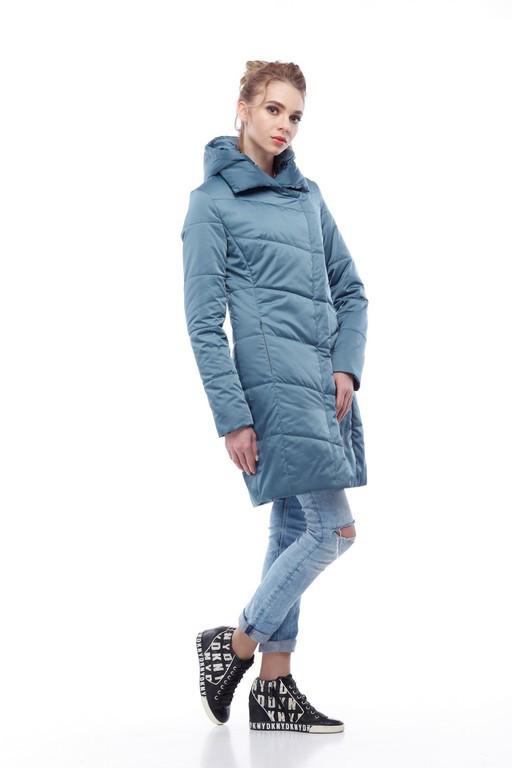 Стильное пальто ниже бедра весна-осень 2018 20cdb565b2932