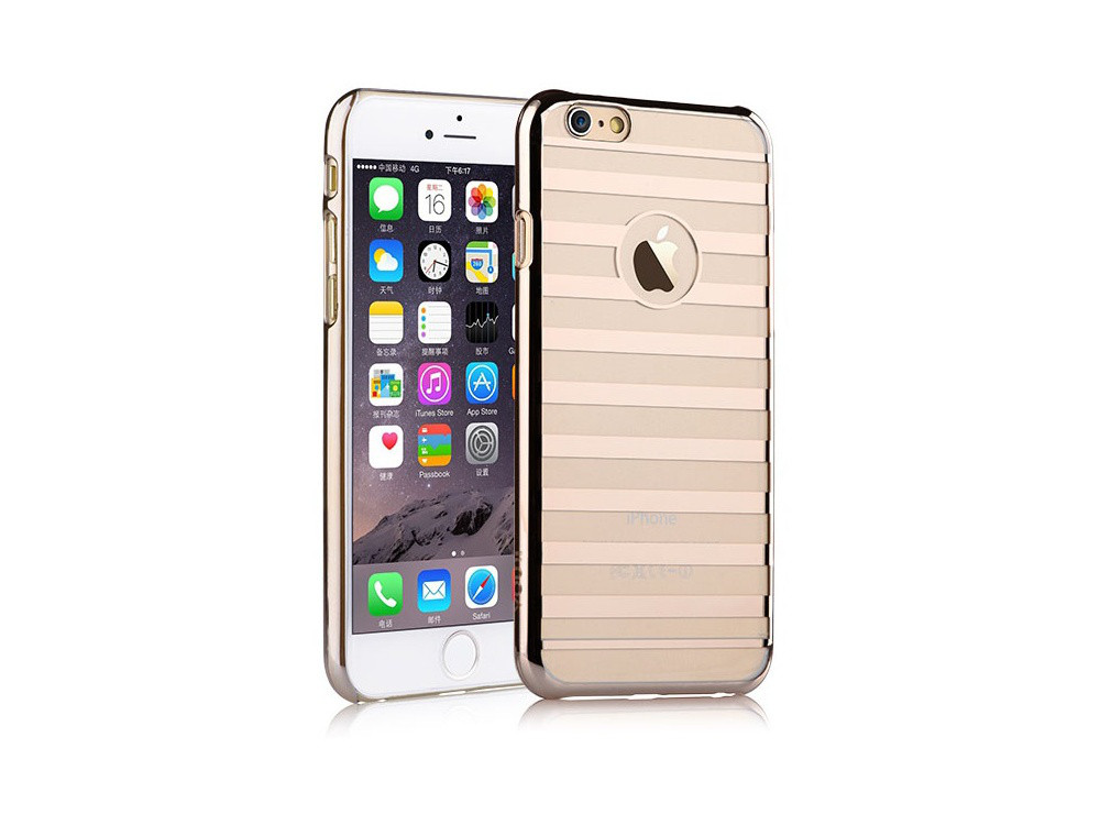 Чехол Vouni для iPhone 6 Plus/6S Plus Parallel Champagne Gold