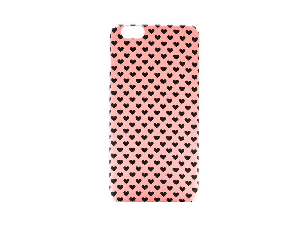 Чехол ARU для iPhone 6 Plus/6S Plus Hearts Pink