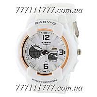 Часы наручные Casio Baby G BGA-230 G White-Gold