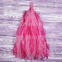 Гирлянды тассел розовые, 35 см, 5 шт