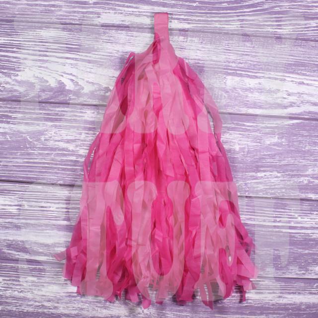 кисточки тассел розовые