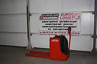 Электротележка штабелер LINDE T 16L 2012 г , фото 1