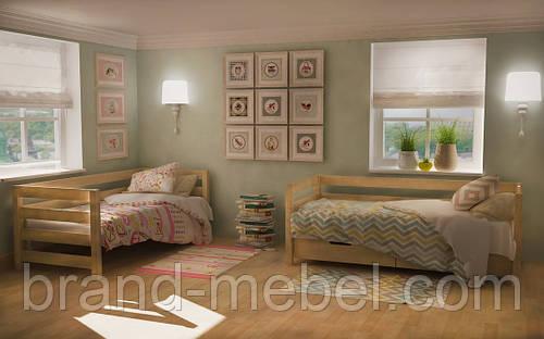 Кровать деревянная Вуд