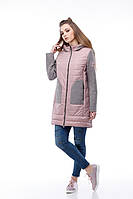 Пальто Эрика темная пудра с 42 по 52 размер, фото 1