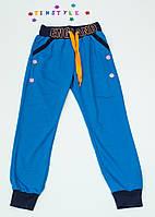 Спортивные  брюки  для мальчика на рост 140 см