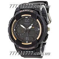 Часы наручные Casio Baby G BGA-230 G Black-Gold