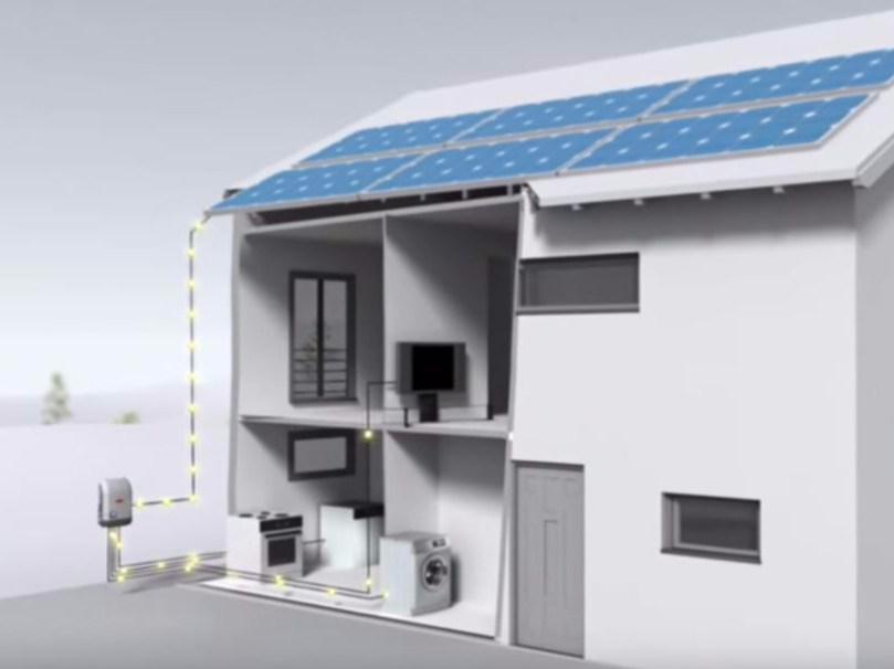 Система мониторинга для солнечного инвертора Fronius Solsr.Web