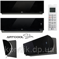 Кондиционер LG ARTCOOL SLIM CA09RWK/CA09UWK инвертор , фото 2