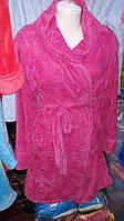 Женский молодежный халат в расцветке