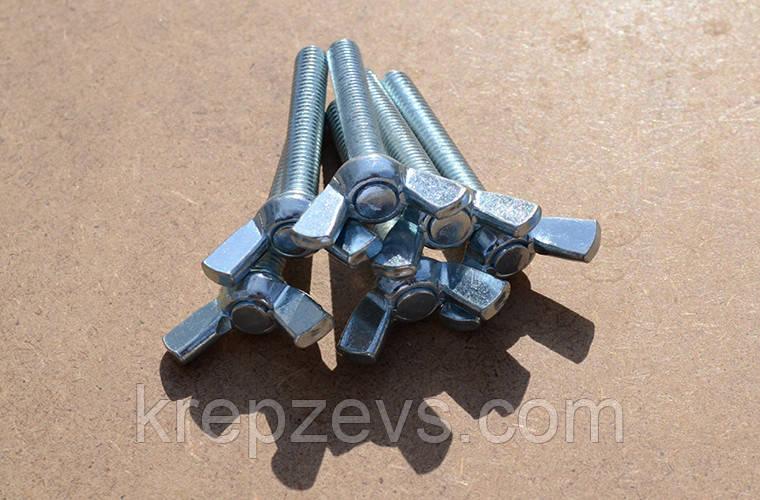 Гвинт М6 DIN 316 смушковий