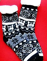 Жіночі теплі шкарпетки (на флісі) оптом