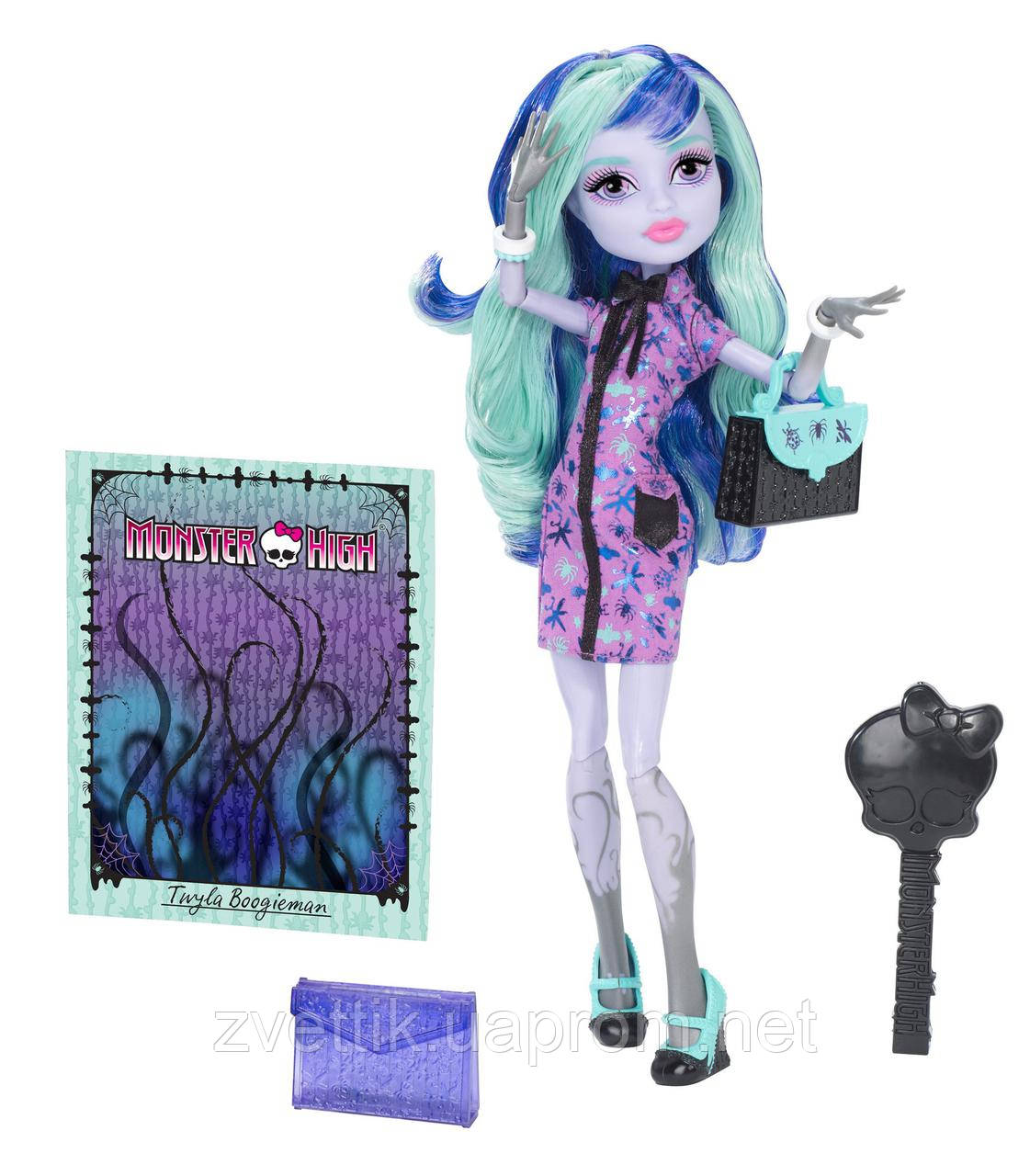 П,Кукла Monster High New Scaremester Twyla Doll Твайла