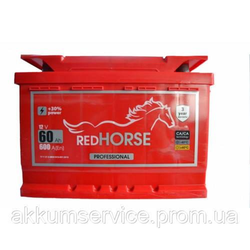 Аккумулятор автомобильный Red Horse 65AH L+ 600A